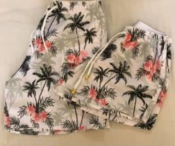Vendo shorts combinadinhos tactel