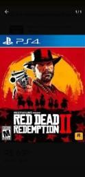 red dead redemption 2 mídia física, perfeito estado