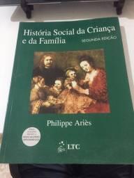 Livro História Social da Criança e da Família