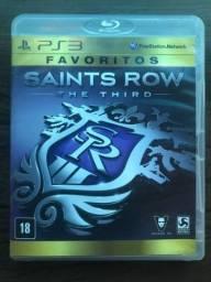 Vendo ou troco jogo de PS3 SAINTS ROW THE THIRD