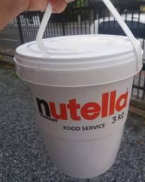 Nutella 3kg. Não compre no duvidoso!