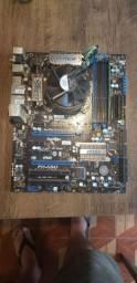 Kit processador i7 1156, placa mãe e memória ddr3
