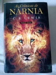 Livro As crônicas de Nárnia - Semi novo