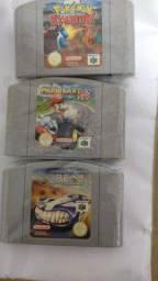 Jogos europeus Nintendo 64 originais