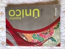 Livro usado de espanhol para ensino médio ?Español único?