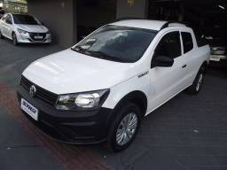 Volkswagen Nova Saveiro Robust Cabine Dupla 1.6 Flex 2021 Branca Cód. 6690
