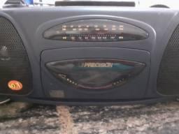 Rádio Portátil Toca Fitas Precision