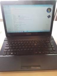 Vendo ou troco notebook samsung modelo 275E novinho