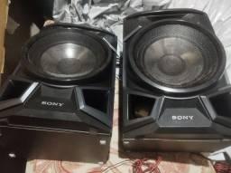 <br>Só Caixas de Mini System Sony Genezi MHC-EX88 c - 300 W
