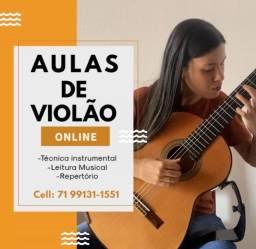 Título do anúncio: Aulas de violão e Ukulele