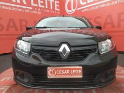 Título do anúncio: Renault LOGAN AUTHENTIQUE FLEX 1.0 12V 4P