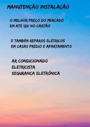 Eletricista e ar condicionado