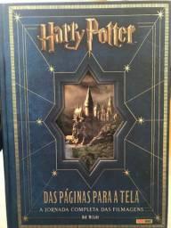 Livro Harry Potter das páginas para a tela