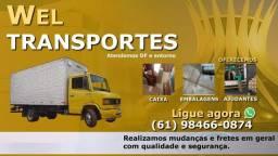Frete e Mudança Asa Sul,Asa Norte,Cruzeiro,Noroeste,Octogonal,