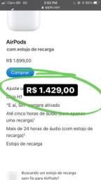 AIRPODS & AIRPODS PRO - LACRADOS (PRODUTO ORIGINAL)