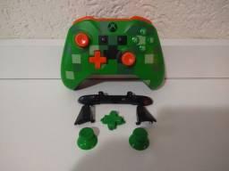Controle Xbox one s edição Minecraft