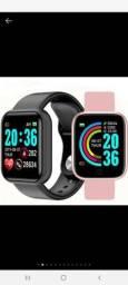 Smartwatch V6/Y68S/D20S Coloca foto na tela