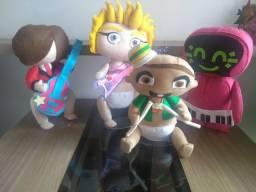 Bonecos Feltro 4 personagens