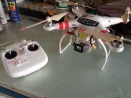 Drone Phantom 1 com antela para goopro