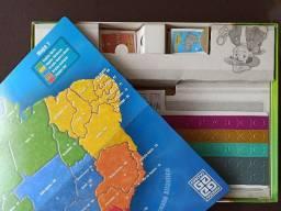 Jogo de tabuleiro - explorando o brasil