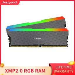 Memória Ram Ddr4 Asagrd 2x8gb 3200 Mhz