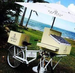 Vendo food Bike com ombrelone