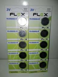 Título do anúncio: Bateria Lithium 3v Cartela 5 Unid FLex