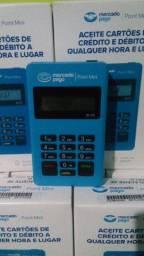 Duas Máquinas de Cartão Mercado Pago Point Mini