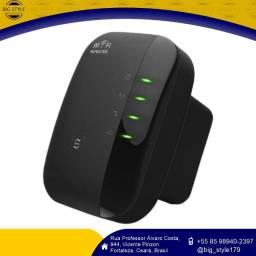 Repetidor Amplificador Extensor de Sinal Wifi Fácil Instalação