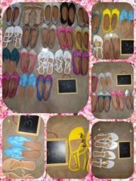 Lote sandálias e sapatilhas Novas