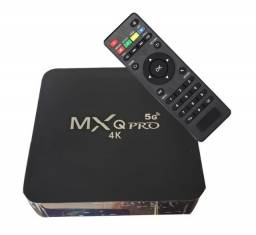 TvBox MxqPro 4K HD 8G de Ram 64GB de espaço
