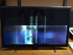 Smart TV Sony 32 (defeito no display)