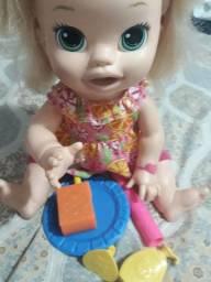 Boneca Baby alive comilona