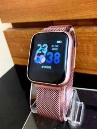 Relógio Smartwatch ThinFit W8 Android e Ios com 2 Pulseiras