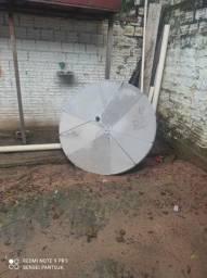 Título do anúncio: Uma antena grande e duas pequenas 100 as 3