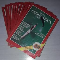 Revista Geográfica Universal 1990 12 volumes