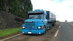 Scania 113 engatado no ls