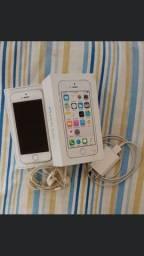 Vendo iPhone 5s 16 GB conservado com todos acessórios