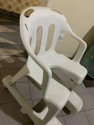 Cadeira de rodas em PVC