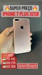 Título do anúncio: iPhone 7 Plus 32gb gold- use seu IPHONE usado como entrada