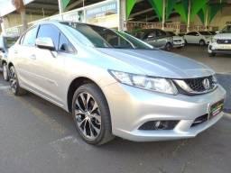 Honda Civic 2.0 LXR 14/15 Automático. Vendo Troco Financio