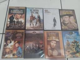 26 DVDS DE FAROESTE ORIGINAIS