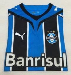 Camisa Grêmio 1 Puma M Nº 8 - Banrisul (2009)