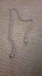 Cordao indiano de prata