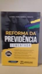 """Livro """" Reforma da previdência comentada"""" 345 p (2020)"""