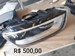 Farol Audi Q3