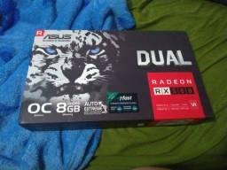 Placa de vídeo AMD Asus Dual Radeon RX 500 series RX 580 DUAL-RX580-O8G OC Edition 8 GB