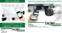 Segurança Eletrônica - câmeras, alarmes e controle de acesso