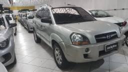 Hyundai Tucson Gl 2.0 2010 Prata Completa Muito Nova Doc OK