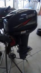 Motor 15 hp Yamaha 2012 ótima estado